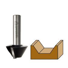 Fresa per smussare il Legno x Fresatrice verticale codolo 6 8mm a punta FRAISER