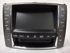 2010-2012 Lexus IS250 IS350 IS-F GPS Navigation System Display Screen OEM
