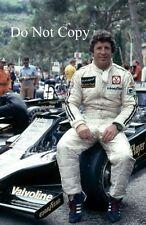 Mario andretti jps lotus F1 portrait grand prix de monaco 1978 photographie