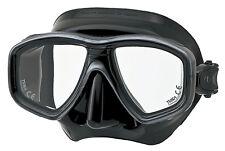 Tusa Freedom Ceos Mask Scuba Diving, FreeDiving, Snorkeling BK/SL M-212QB-BK