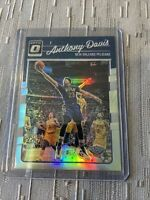 Anthony Davis 2016 Optic Silver Holo Prizm #97 First Year Optic 🔥Lakers Repeat