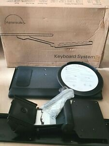 Humanscale 5G Mounted Ergonomic Keyboard System with Mouse Platform NEW Open Box