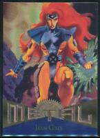 1995 Marvel Metal Trading Card #97 Jean Grey