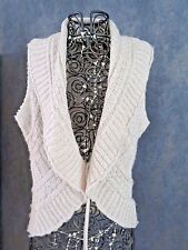 gilet chaud mailles beige ORSAY S 36