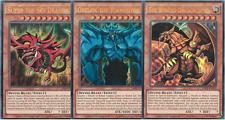 Yu-Gi-Oh! SET SLIFER + OBELISK + DRAGO ALATO DI RA ☻ ULTRA RARI ☻ INGLESE ☻ LDK2