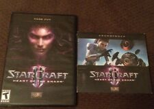 StarCraft II 2 - Heart of the Swarm (game DVD and Soundtrack)