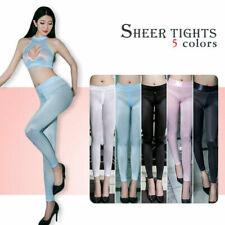 Леди прозрачный чистый брюки штаны топ или лосины молния промежность шелковистый тощий