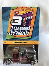 2017 Hot Wheels 31st Convention LA #3 Convoy Custom 1 of 2800