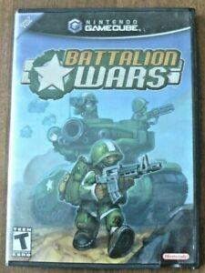 Battalion Wars (Nintendo GameCube, 2005), GCN, CIC, VG Condition!