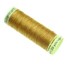 Gutermann Top Stitch Thread 30m - Range of Colours Buy 2 3rd @ 30 off 968 Gold