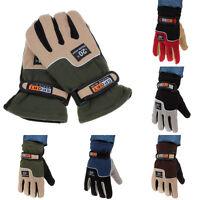 Windproof Sport Gloves Men Thermal Winter Motorcycle Ski Snow Snowboard Gloves