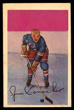 1952-53 PARKHURST HOCKEY #103 JAMES CONACHER EX+ N Y NEW YORK RANGERS CARD