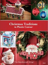 Plastic Canvas BIG Pattern Book CHRISTMAS & HOLIDAY TRADITIONS ~ Gifts, Decor ++