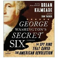George Washington's Secret Six  Audiobook on 5 CD's  Unabridged