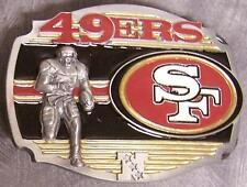 NFL Pewter Belt Buckle San Francisco 49ers NEW