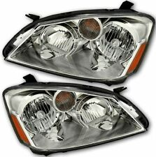 For 2005-2006 Nissan Altima 4-Door Headlights HeadLamps Left+Right Chrome/Clear