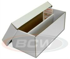 Bcw Graded Card Shoe Storage Box 2 Row Cardboard Lid Psa Beckett & Other Trading