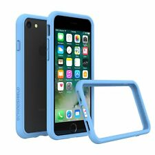 iPhone 8/7 Bumper Case RhinoShield [11 Ft Drop Tested] ShockProof Tech-Baby Blue