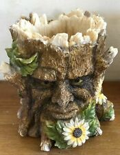 Latex mould for making this small tree man t lite holder