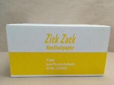 6400 Blatt Handtuchpapier Papierhandtücher, 2 lagig weiß 25x23 cm Falthandtücher