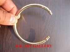 Brass Adjustable Men Kada Bangle Bracelet Wrist Band Traditional Kada