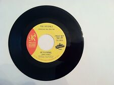RARE SOUL- THE CRYSTALS - HE'S A REBEL - 45 RPM - (REISSUE)   N MINT