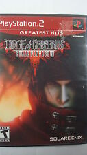 Dirge of Cerberus: Final Fantasy VII (Sony PlayStation 2, 2006) Square Enix