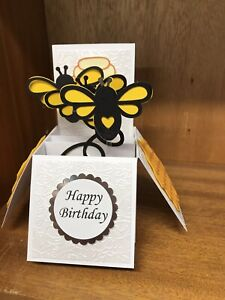 Bees themed Pop Up card
