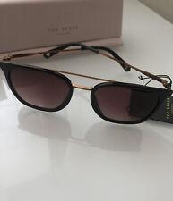 TED BAKER Elkin Matte Black with Bronze / Gradient Lenses 1527 001 Sunglasses