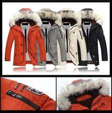 CANADA WHITE DUCK DOWN Jacke t Faux Fourrure Eco Fur (No Goose) PIUMONE DOUDOUNE