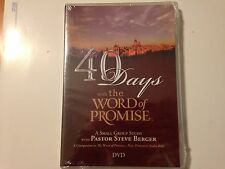 40 DAYS with the WORD of PROMISE, Small Group Study, Steve Berger (DVD) New