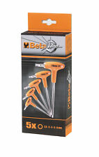 Beta Tools 5 Pieza Offset Mango en T Llave hexagonal conjunto métrica de alimentación 2.5 - 6 mm 96T/S5P