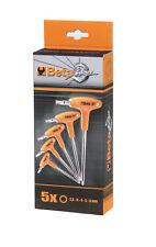 Beta Tools 5 Piece Offset T-Handle Power Hex Key Set Metric 2.5 - 6mm 96T/S5P