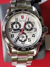 Victorinox Swiss Army Men's 241445 Chrono Classic XLS 45mm Watch NEW