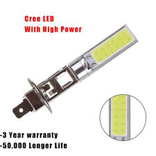 Hot!2x H1 12V CREE LED Headlight High Beam Low Beam Light SMD Bulbs Vehicle Lamp