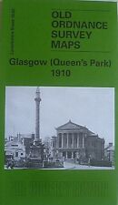 Old Ordnance Survey Map Glasgow Queens Park Lanarkshire 1910 Sheet 10.02  New