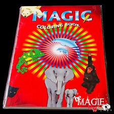 Livre de coloriage magique - grand format  -  Magic coloring book Large