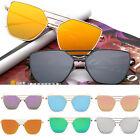 HOT Women's Retro Metal Frame UV400 Aviator Mens Sunglasses Eye Glasses Eyewear