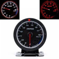 """Universal 2.5"""" 60mm LED Car Voltmeter 8-18V Voltage Gauge Volt Auto Car Meter"""