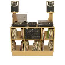DJ Deck Stand CDJ Turntable Mixer Laptop DJ stand Inc Speaker Stands (DS1000/SS)