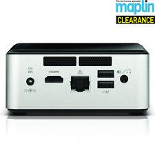 "Intel NUC DN2820FYKH Celeron Bay Trail Barebone Mini Desktop PC 2.5"" HDD Maplin"