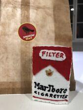 Lucy Sparrow Signed Felt Sculpture Marlboro Red Cigarette Art Banksy Mart Print