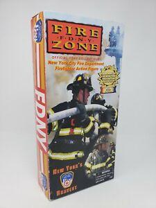 New York City Fire Department Firefighter Action Figure 911