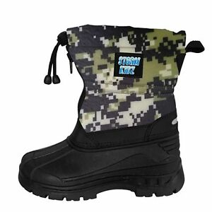 Storm Kidz Unisex Cold Weather Snow Boots Toddler 5-Big Kid 6 MANY COLORS
