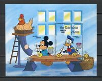 27751) Gambia 1984 MNH New Disney Easter S/S Bf