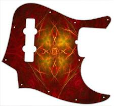 J Bass Pickguard Custom Fender Graphic Graphical Guitar Pick Guard Abstract 10
