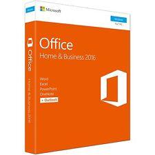 Microsoft Software Office Home & Business 2016 NEU & OVP 230879