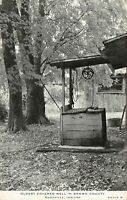 Nashville Indiana~Brown County~Oldest Covered Well~Pulley~1938 B&W CR Childs