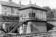pt0063 - Addingham Railway Signal Box , Yorkshire - photo 6x4