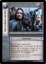 LoTR TCG TTT The Two Towers Help In Doubt And Need 4R124